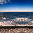 Coastline and the sea — Stock Photo