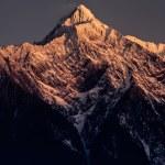 Mountain peak — Stock Photo