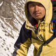 Asian mountaineer — Stock Photo