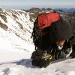 Stock Photo: Mountaineer