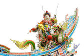 Color Chinese god — Stock Photo
