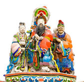 Colorful oriental god — Stock Photo