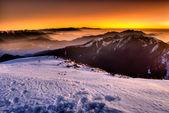 Color mountain — Stock Photo