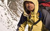 Asian mountaineer — Stock Photo