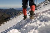 Mountain climber — Stock Photo
