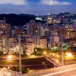 Beautiful night scene in Taipei — Stock Photo