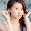 Beautiful Asian lady — Stock Photo