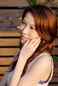Beautiful Asian lady — Stock Photo