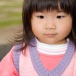 Süße asiatische baby — Stockfoto