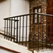 Old balustrade — Stock Photo