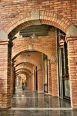 Antique corridor — Stock Photo