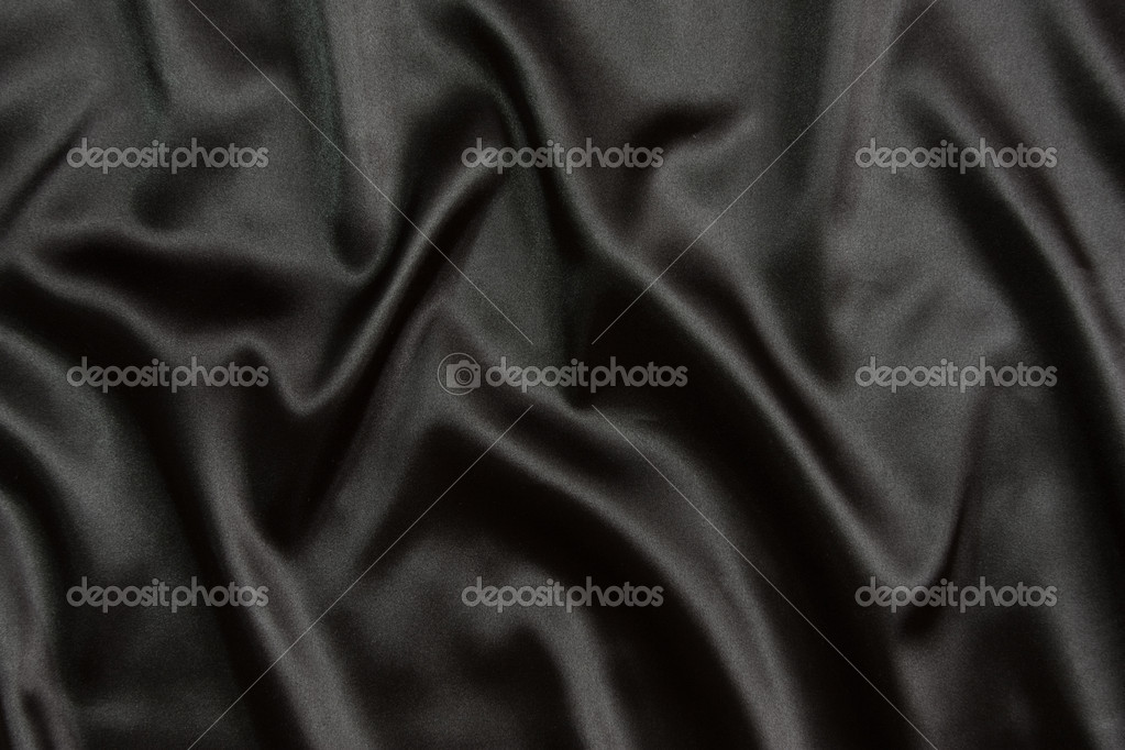 Black silk textile background  Stock Photo #2017125