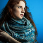 Retrato de la joven hermosa — Foto de Stock