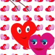 Stock Vector: Valentines decoration