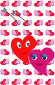Valentines decoration — Stock Vector