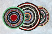 Handmade rugs — Stock Photo