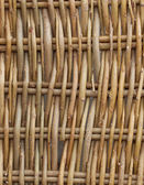 Wall from willow rods — Stock Photo