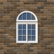 White window — Stock Photo