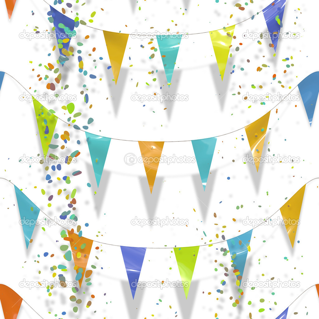 An illustration of a colorful celebration background — Stock Photo #2021316