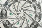 Tło dolarów — Zdjęcie stockowe