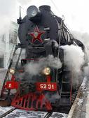 Steam locomotive — Stock Photo
