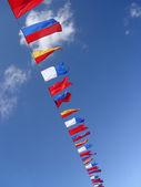 Sea flags — Stock Photo