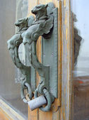 The door handle — Stock Photo