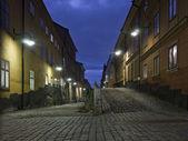 多彩的后巷 — 图库照片