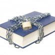 Book with a chain and lock — Stock Photo