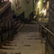 Alley with stairs at night — Stock Photo #2027785