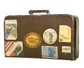 Retro suitcase — Stock Photo