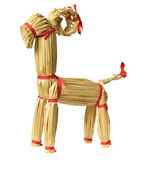 Yule goat — Stock Photo
