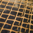 Rusty metal net — Stock Photo