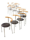 Multiple chairs — Stock Photo