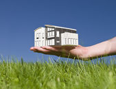 Miniature House — Stock Photo