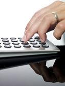 财务计算 — 图库照片