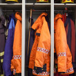 Foto de Stock  : Firefighter suits
