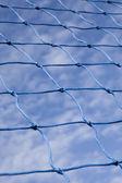 Rope net sky — Stock Photo