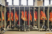 Firefighter suits — Stock Photo