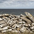 Stones by sea — Stock Photo