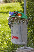 Trashcan — Stock Photo