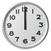 Twelve O`Clock — Stock Photo