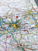 Manchester map — Stock Photo