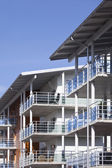 Balconys on a modern building — Стоковое фото