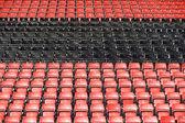 Assentos — Fotografia Stock