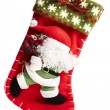 christmas stocking — Stock Photo