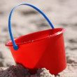 Red Pail — Stock Photo