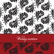 Royalty-Free Stock Vectorielle: Wedding invitation