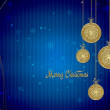Christmas background — Photo