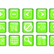 Icon set — Stock Photo